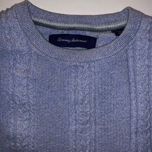 Tommy Bahama Sweaters - Tommy Bahama Marled Sands Cable Crewneck Sweater